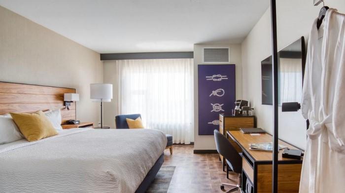 A room at Hotel Indigo in Everett